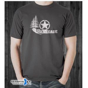 Jeep Renegade Outdoor Adventure Car T-Shirt